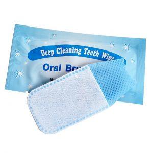 Deep cleaning Teeth Wipe