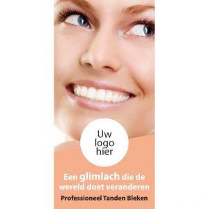 promotie flyer tanden bleken