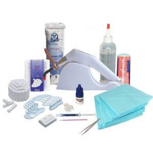 Componenten Startpakket Tandkristallen met lamp, lijm, etch, mondspreiders, etc...