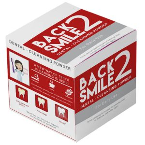 BACK 2 SMILE® Tandenpoeder